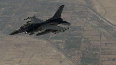 Истребитель ВВС США потерпел крушение в Афганистане