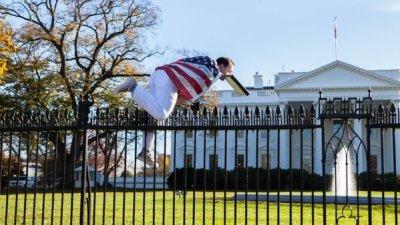 Грабитель перепугал обитателей Белого дома в США