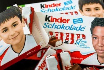 Антиисламистов разгневали шоколадки Kinder с темнокожим футболистом
