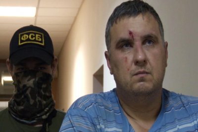 Задержанных в Крыму украинских диверсантов перевезли в Москву