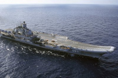 «Адмирала Кузнецова» обнаружили у берегов Алжира