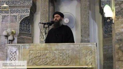 СМИ: Главарь ИГ ранен в результате воздушной атаки