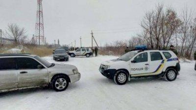 Украинские радикалы перекрыли трассу Донецк — Мариуполь у села Новотроицкое
