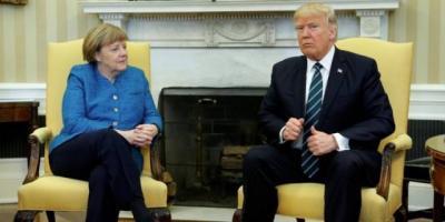 Трамп и Меркель договорились сотрудничать по украинскому и афганскому вопросам