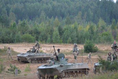 В ходе учений на северо-западе России солдат НАТО призвали сдаться